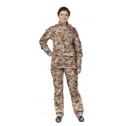 Женский костюм Биостоп ХБР (песочный камуфляж)